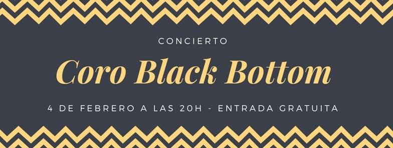 Concierto del coro Black Bottom